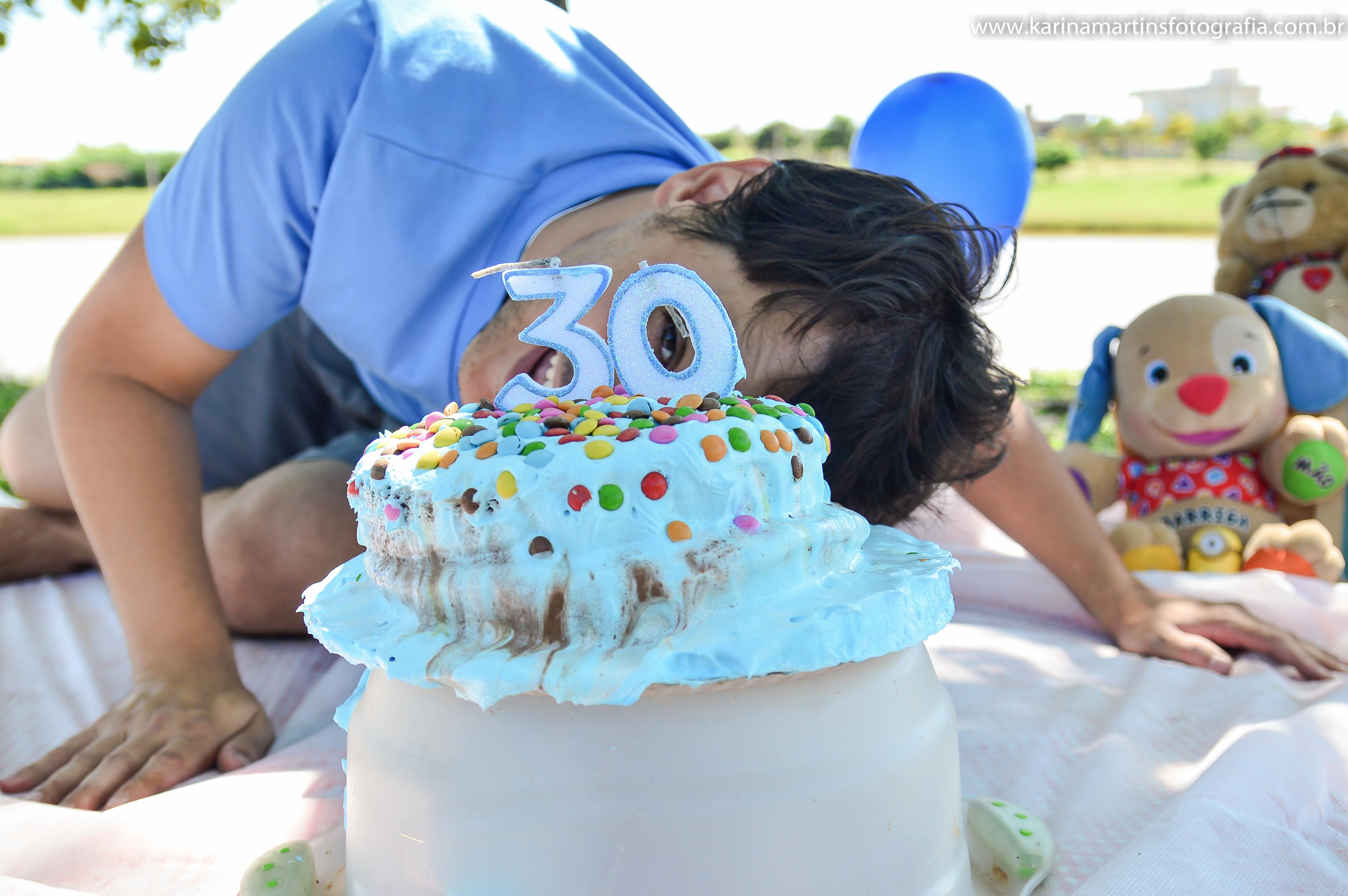Smash the cake 30 anos Leandro