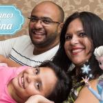 Clipe Aniversário Infantil – Lorena 7 anos – Tema Frozen