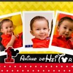 Álbum – Aniversário Infantil 1º aninho do Heitor – Mikey