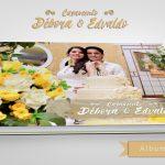 Álbum de Casamento Débora e Edvaldo – Por Karina Martins Fotografia